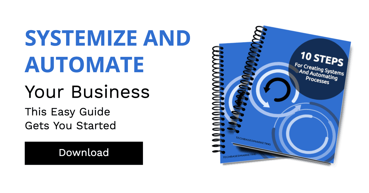 Systemize and automate your business cover