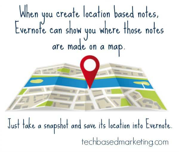 Location Based Notes in Evernote