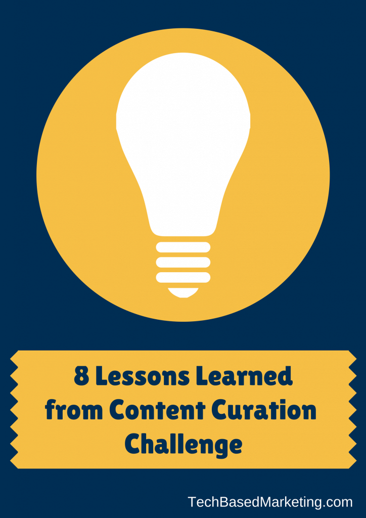 8 Lessons Learned from Content Creation Challenge