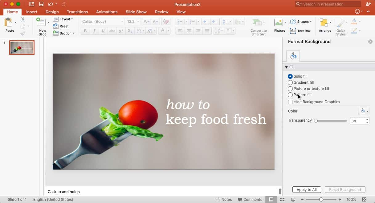how to add text to a blank slide in powerpoint