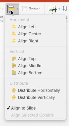 Align Image in PPT