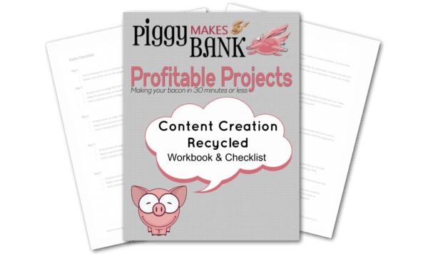Profitable Project action lesson with checklist.