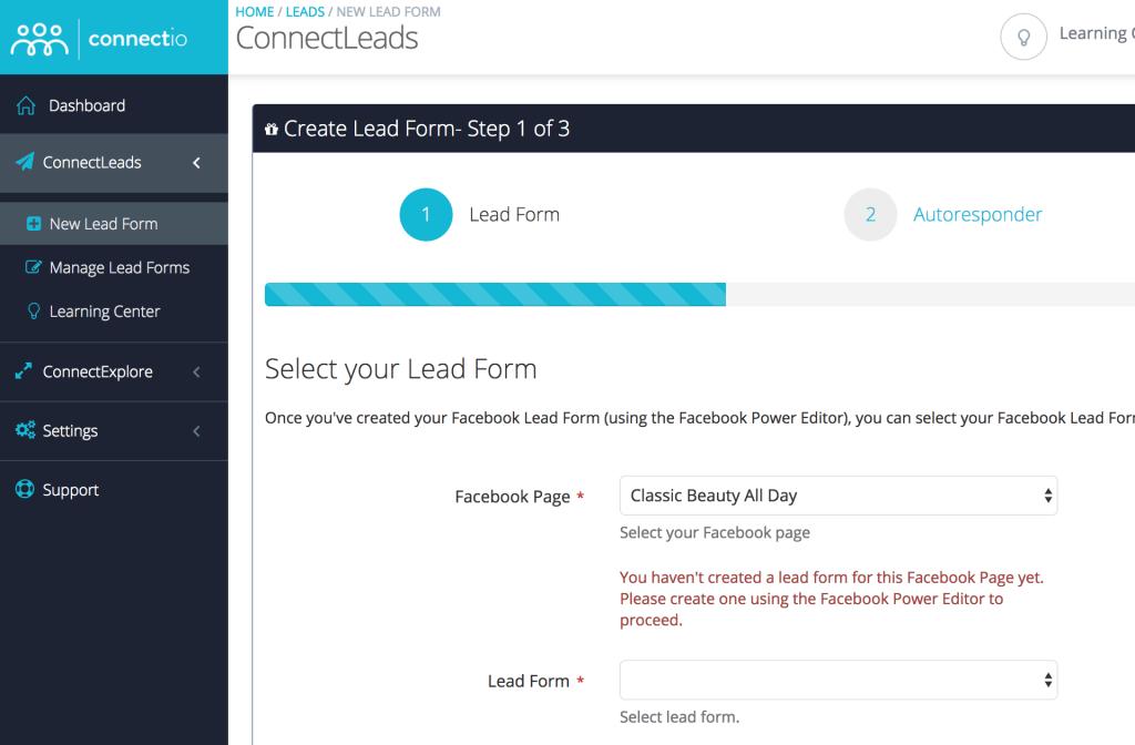 ConnectLeads Screenshot