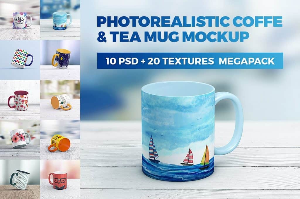 Mug Mockup collage