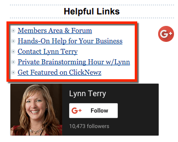 Lynns helpful links