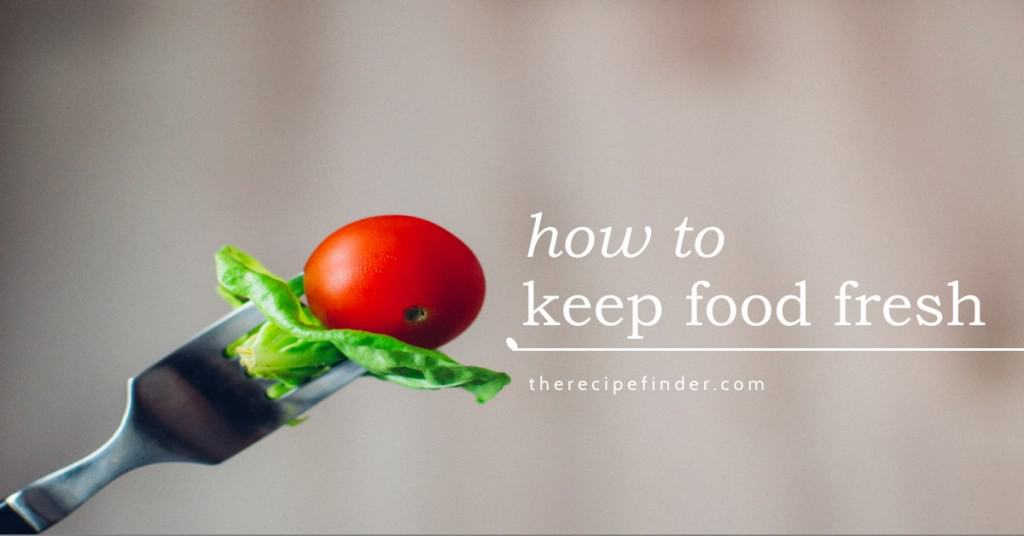 Keep foods fresh image