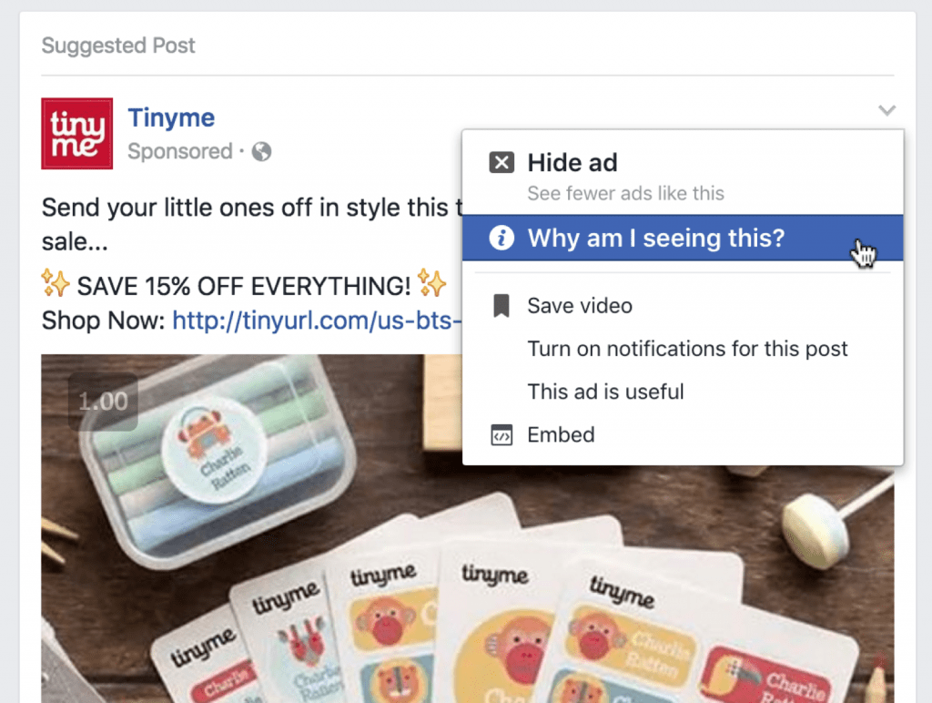 Why am I seeing this ad?