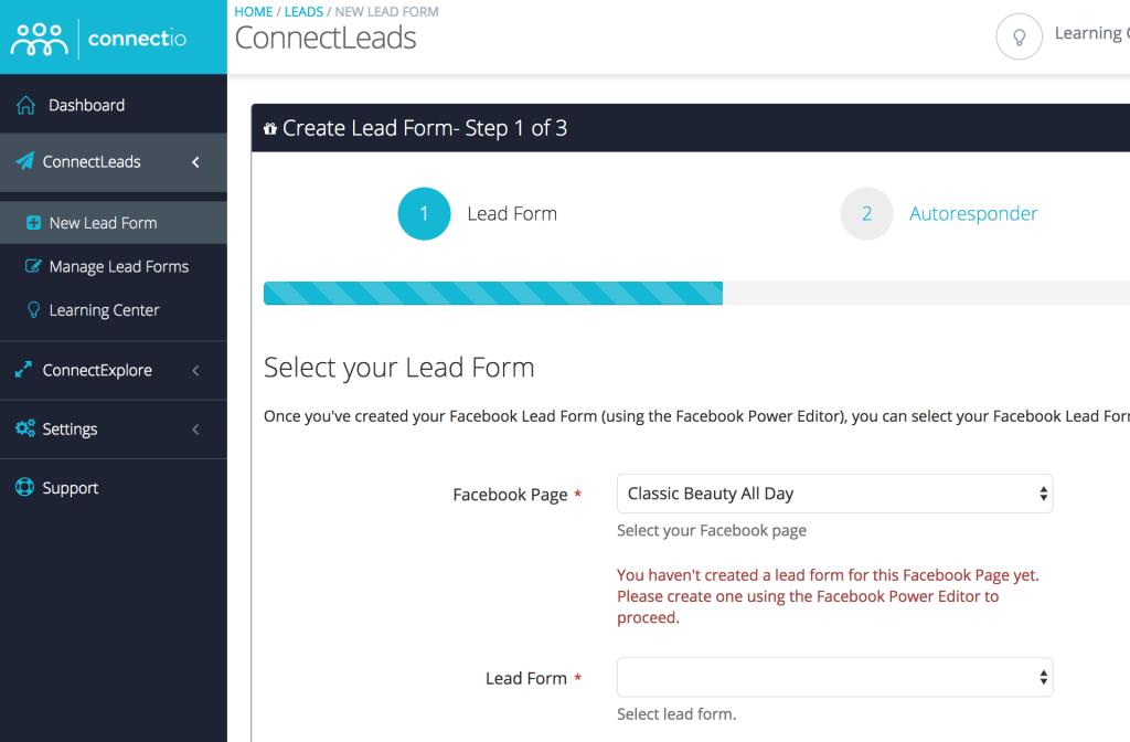 ConnectLeads Screenshot